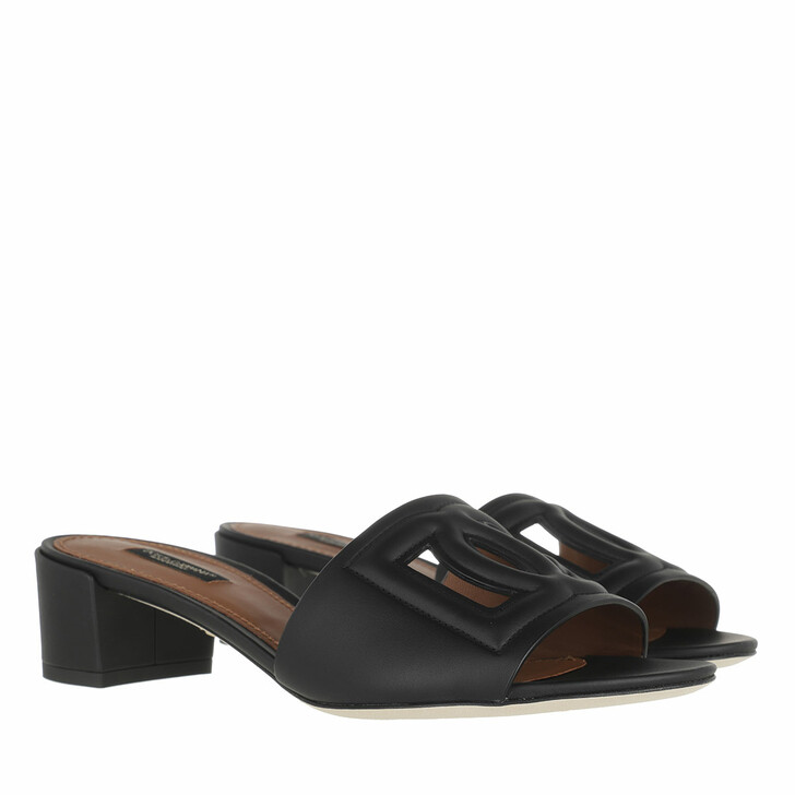 Schuh, Dolce&Gabbana, Crystal Mules Black