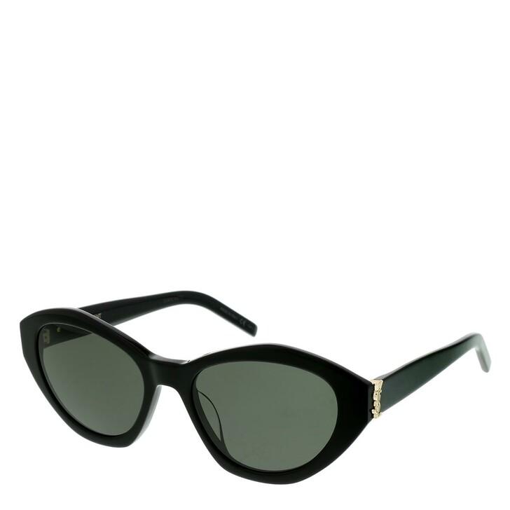 sunglasses, Saint Laurent, SL M60-006 54 Sunglasses Black-Black-Grey