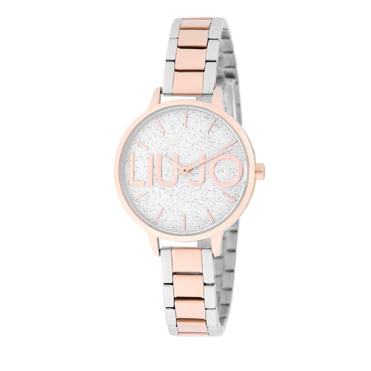 Uhr, LIU JO, TLJ1789 Couple Light Quartz Watch Bicolor Gold Rose
