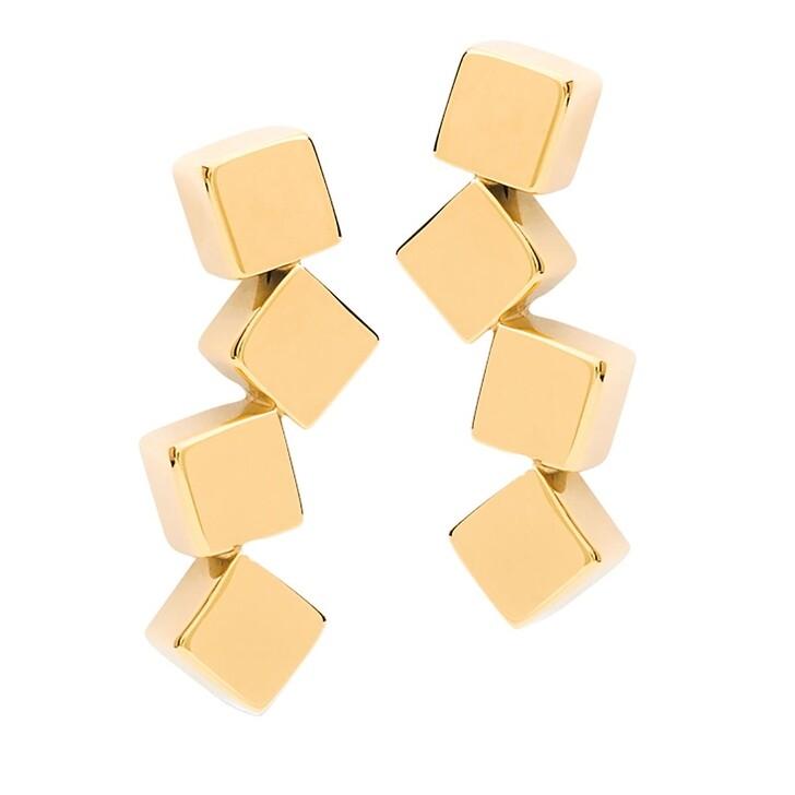 earrings, COEUR DE LION, Earrings with stickpin Gold