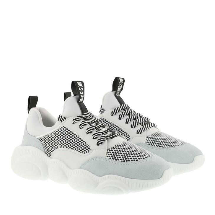 Schuh, Moschino, Sneaker Orso Mix White