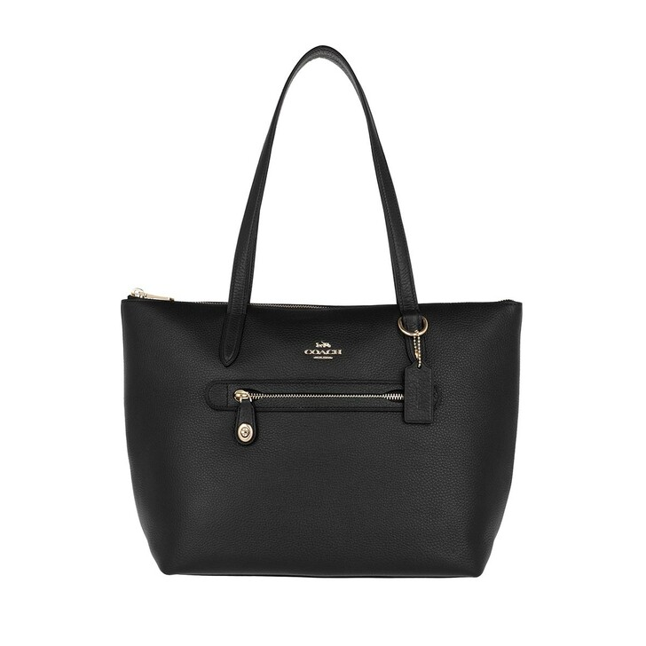 Handtasche, Coach, Pebble Taylor Tote Bag Black