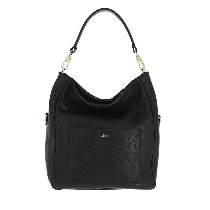 bags, Abro, Bucket RAQUEL small  Black/Gold