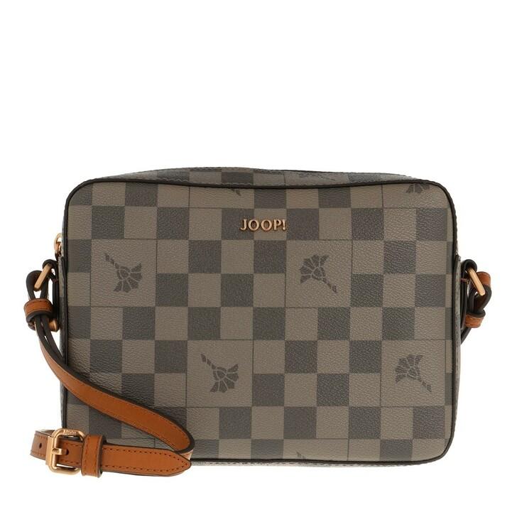 Handtasche, JOOP!, Cortina Piazza Cloe Shoulderbag Shz Darkgrey