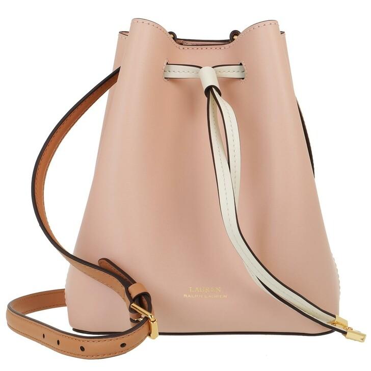 Handtasche, Lauren Ralph Lauren, Debby Ii Drawstring Mini Ballet Pink/Nude/Vanilla