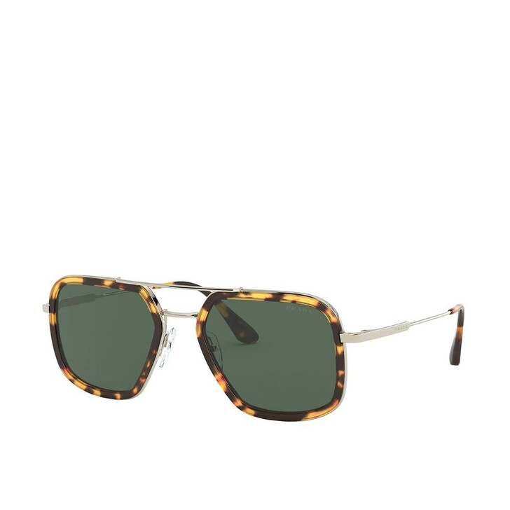 Sonnenbrille, Prada, Men Sunglasses Conceptual 0PR 57XS Brown/Pale Gold