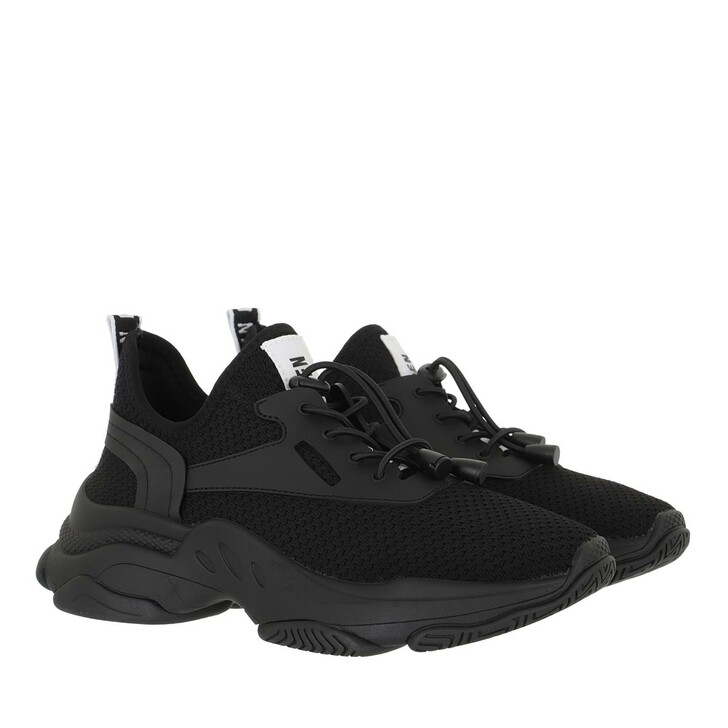shoes, Steve Madden, Match Sneaker Fabric Black/Black