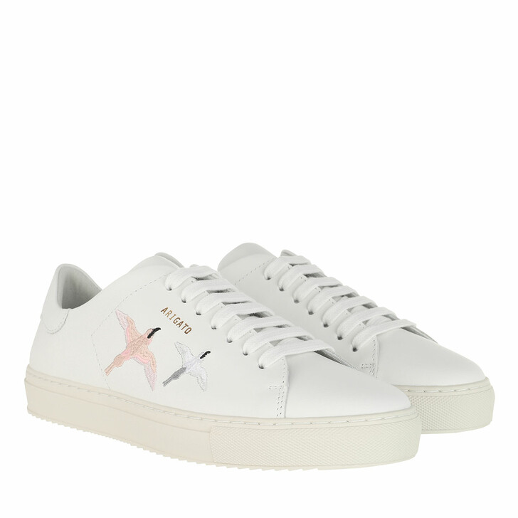Schuh, Axel Arigato, Clean 90 Double Birds Sneaker White / Pink