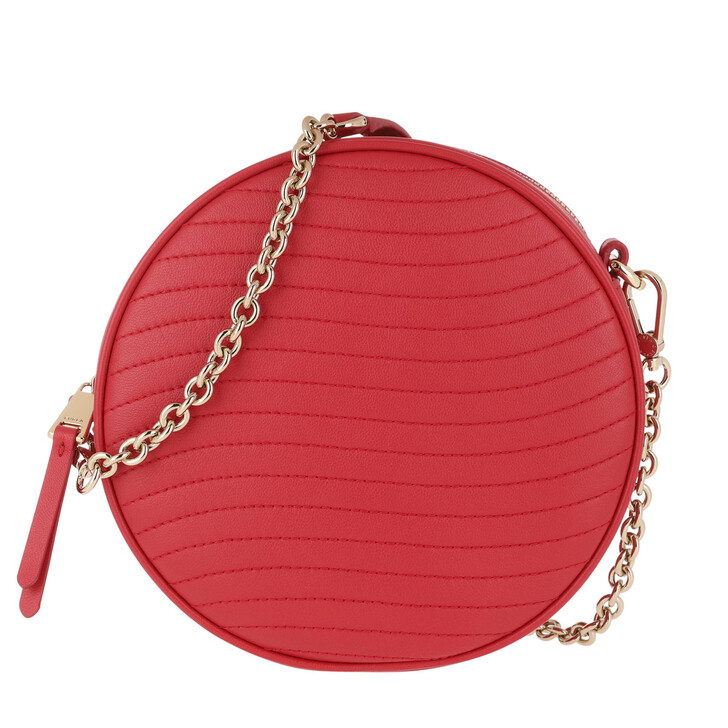 Handtasche, Furla, Swing Mini Crossbody Round Fragola