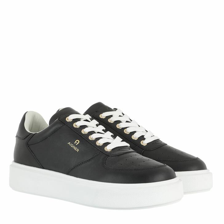 Schuh, AIGNER, Sally Sneaker Black