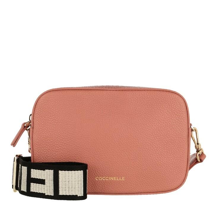 bags, Coccinelle, Tebe Mini Crossbody Bag Litchi