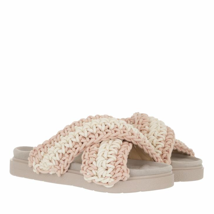 Schuh, INUIKII, Slipper Woven   White-Rose