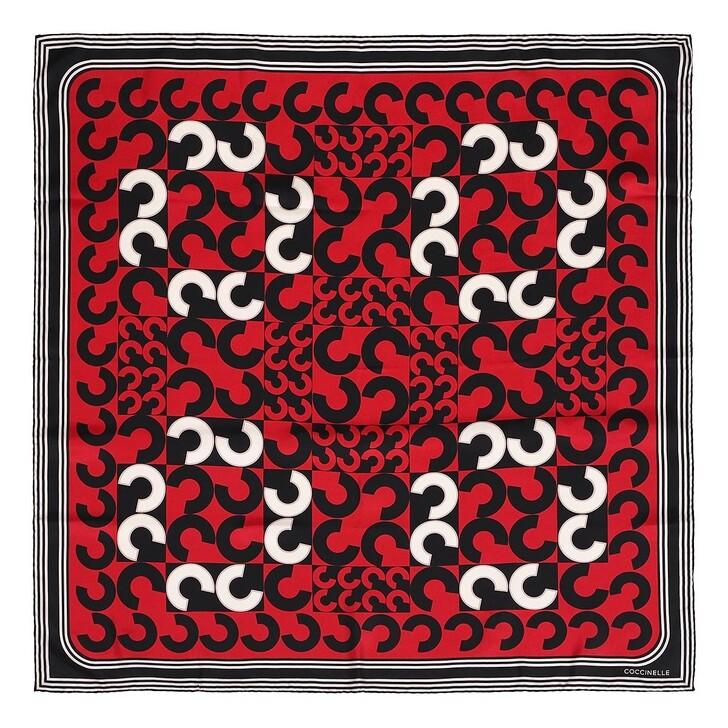 scarves, Coccinelle, Scarves Foulard 90X90  Multi Ruby