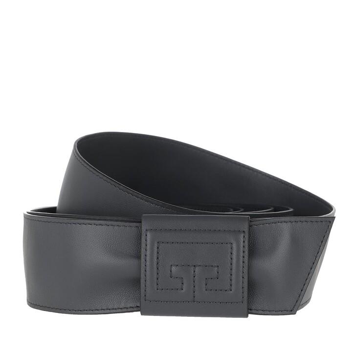 Gürtel, Givenchy, Wrap Belt Leather Storm Grey