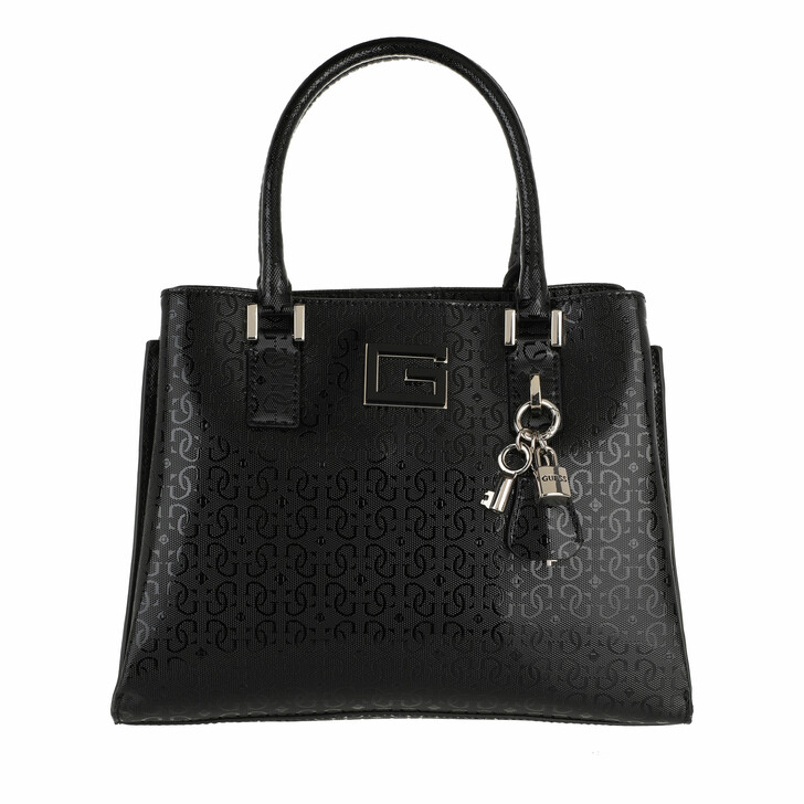 bags, Guess, Blane Girlfriend Tote Black