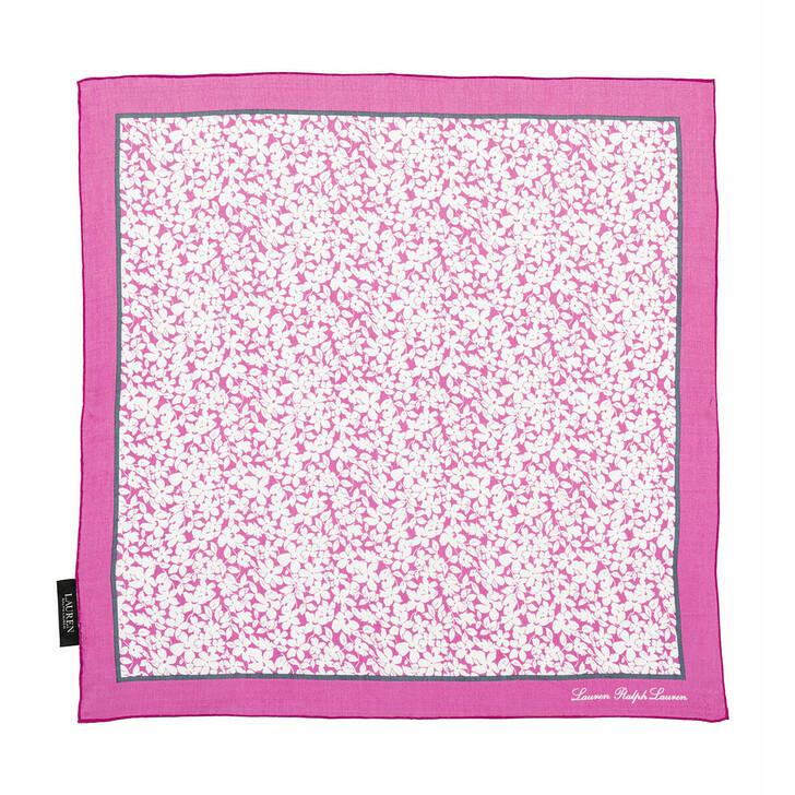 Schal, Lauren Ralph Lauren, Adriana22X22 Square Scarf Deco Bright Pink