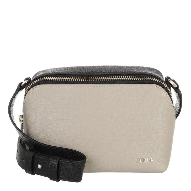 bags, Furla, Furla Amica Mini Camera Case Marmo C+Nero