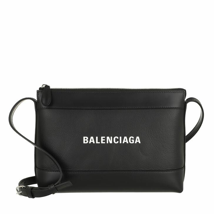 Handtasche, Balenciaga, Navy Crossbody Bag Black