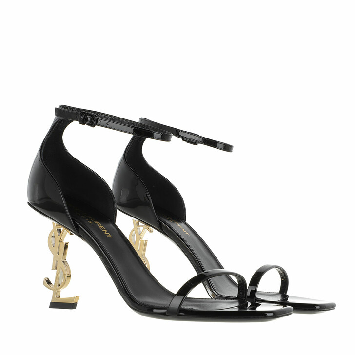 Schuh, Saint Laurent, YSL Opyum Heeled Sandals Black