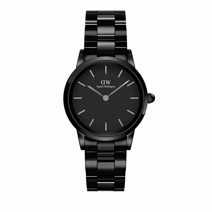 watches, Daniel Wellington, Watch Iconic Ceramic 28 Black
