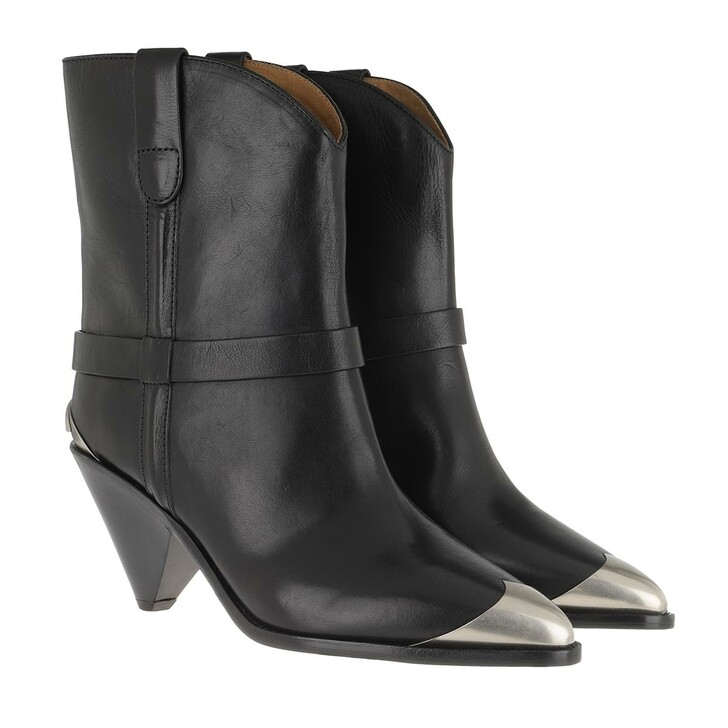 Schuh, Isabel Marant, Limza Boots Leather Black