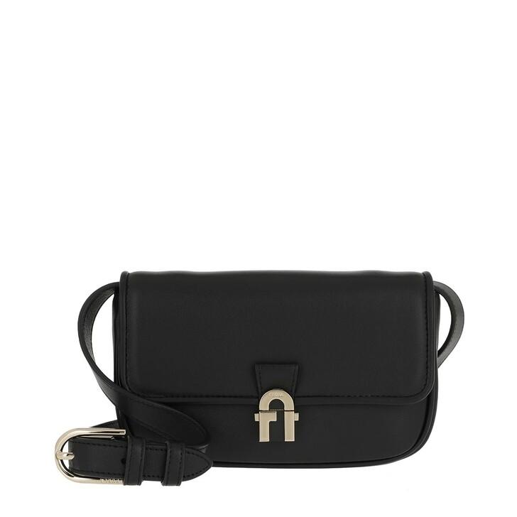 Handtasche, Furla, Cosy Mini Belt Bag Cross Nero
