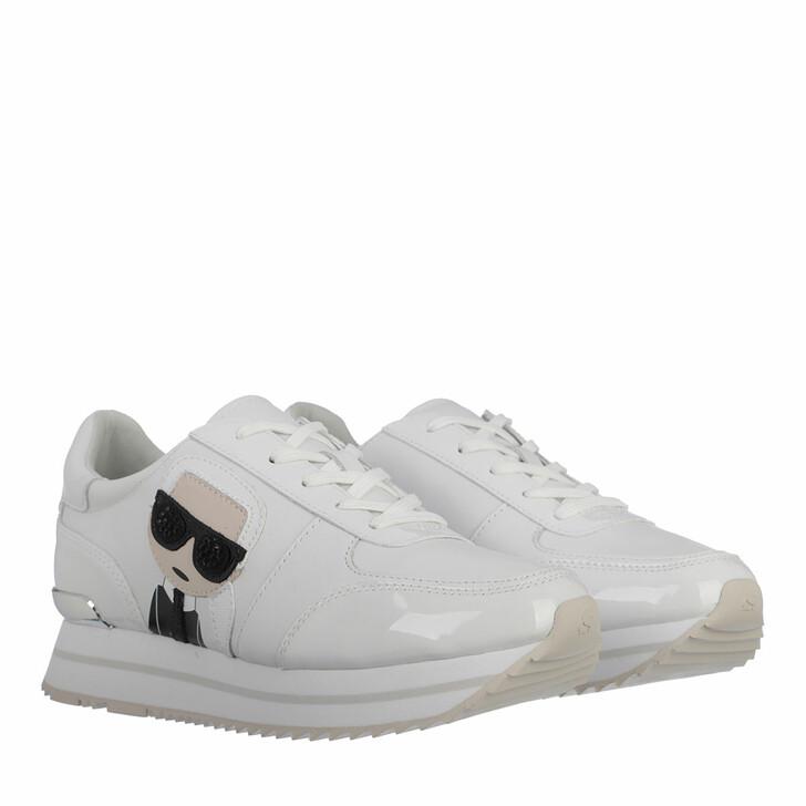 Schuh, Karl Lagerfeld, Velocita II Karl Ikonic Meteor White
