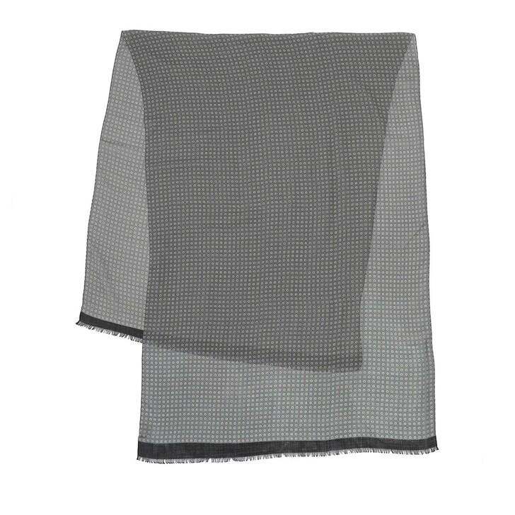 Schal, Roeckl, Easy Check Scarf 70x180 Multi Grey