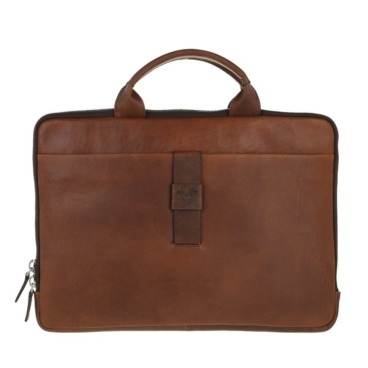 Handtasche, JOOP!, Men Loretu Samu Computer Bag Darkbrown