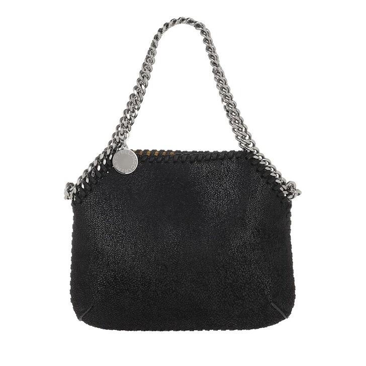 Handtasche, Stella McCartney, Falabella Mini Shoulder Bag Leather Black