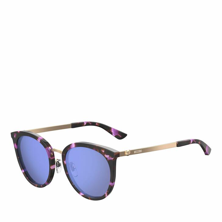 sunglasses, Moschino, Sunglasses Mos045/F/S Violet Havana