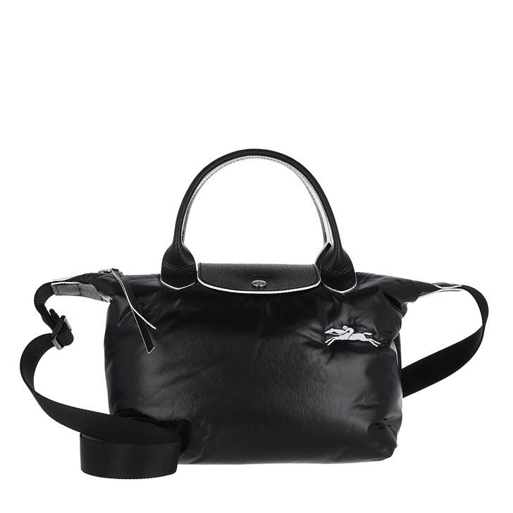 bags, Longchamp, Le Pliage Alpin Handbag  Black