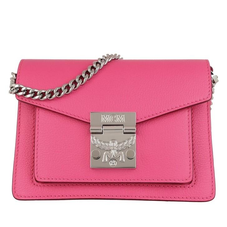 Handtasche, MCM, Patricia Crossbody Mini  Sugar Pink