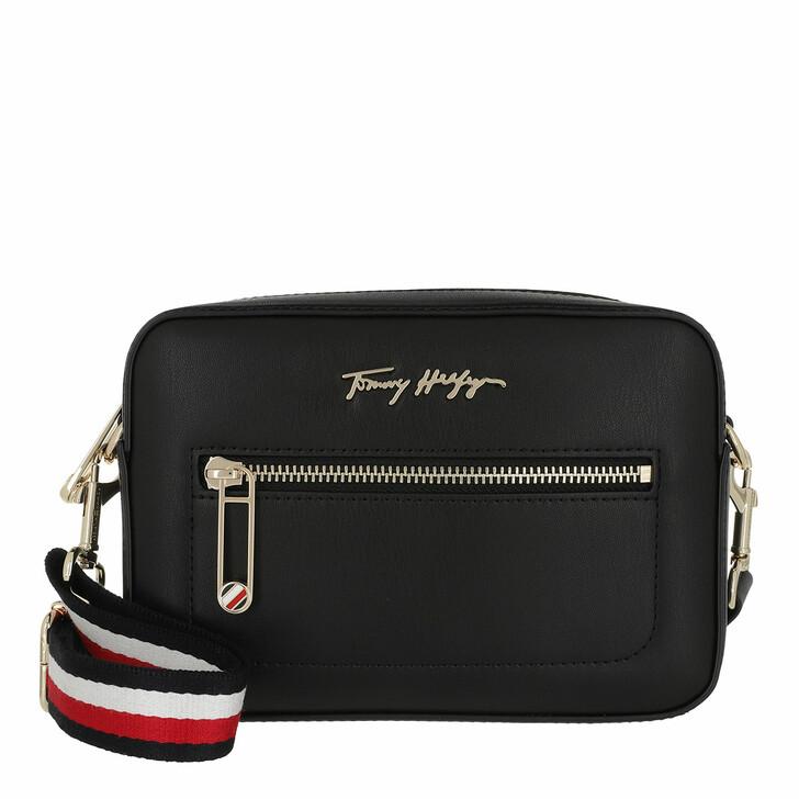 Handtasche, Tommy Hilfiger, Iconic Tommy Camera Bag Black