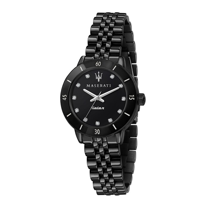 watches, Maserati, Successo Solar 32mm black