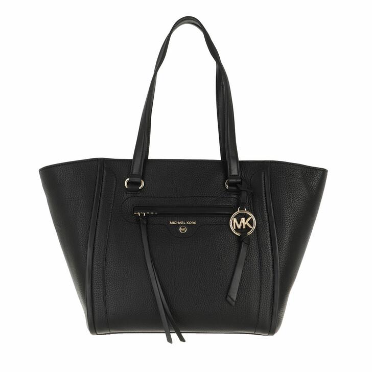 Handtasche, MICHAEL Michael Kors, Medium Tote  Leather Black
