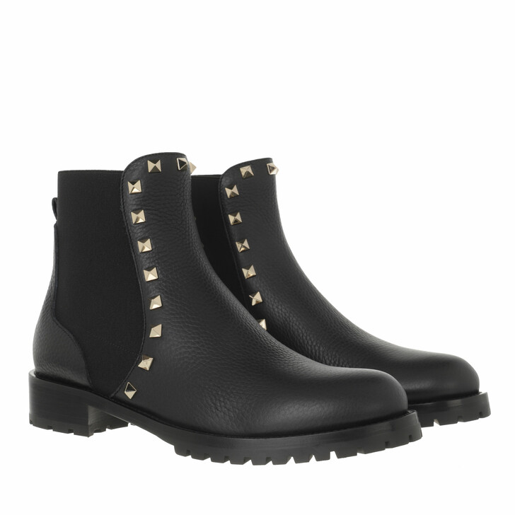 shoes, Valentino Garavani, Beatle Boots Black