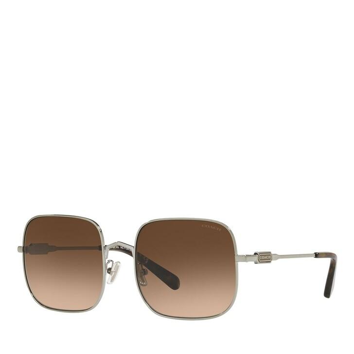 Sonnenbrille, Coach, 0HC7120 Light Gold/Brown
