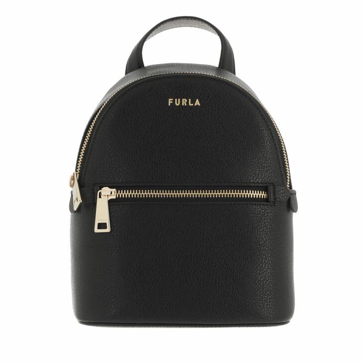 bags, Furla, Furla Libera Mini Backpack Nero