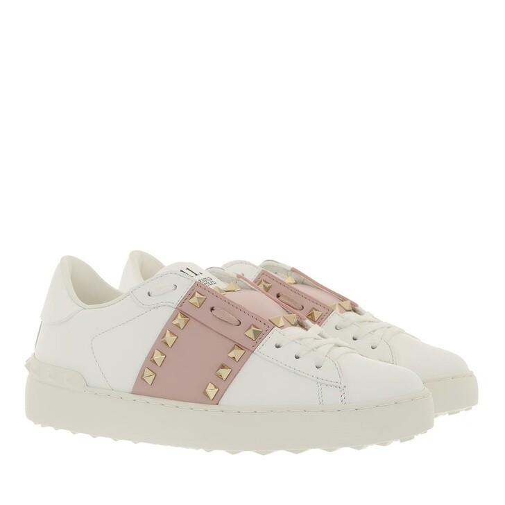 shoes, Valentino Garavani, Rockstud Untitled Sneakers Light Pink