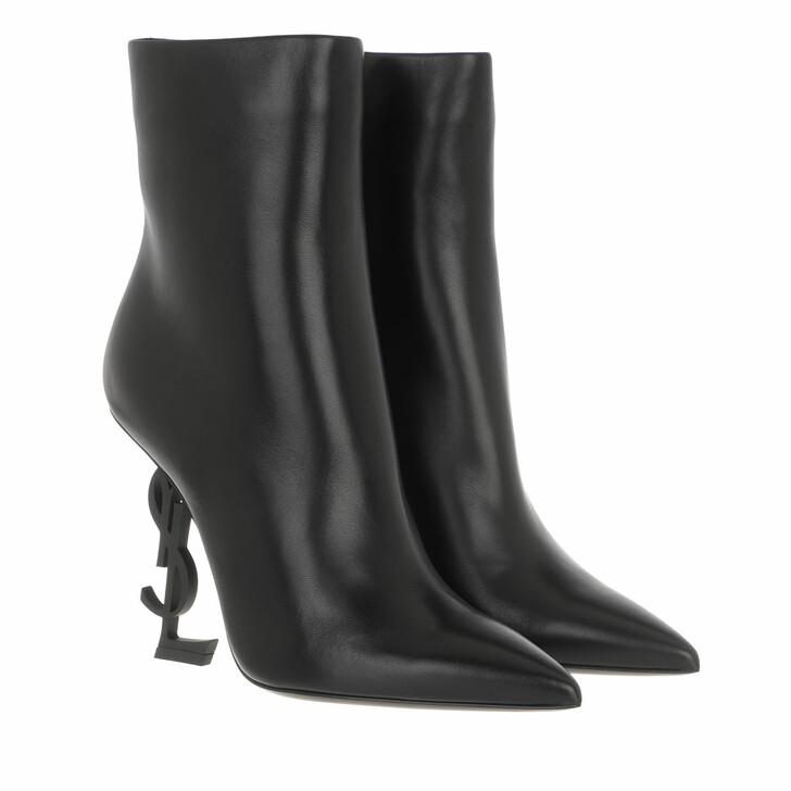 Schuh, Saint Laurent, Boots Leather Black