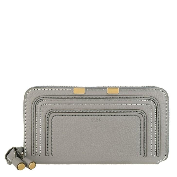wallets, Chloé, Marcie Portefeuille Cashmere Grey