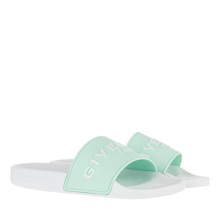 Schuh, Givenchy, Sandals White/Blue