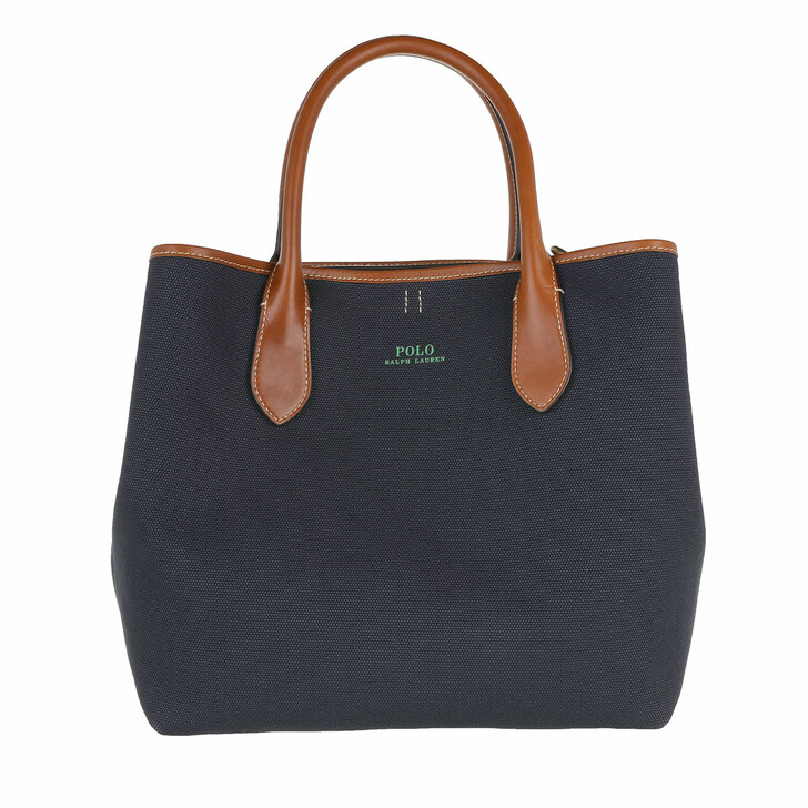 Handtasche, Polo Ralph Lauren,  Open Tote Medium Navy