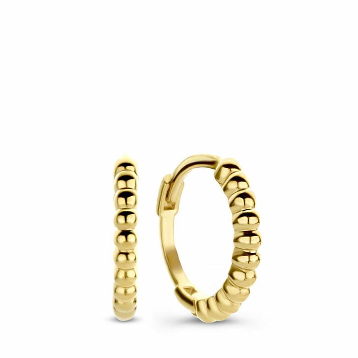 earrings, Isabel Bernard, Le Marais Anne-Aurelia 14 Karat Hoop Earrings Twis