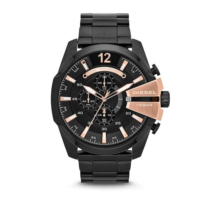 watches, Diesel, MEGA CHIEF SCHWARZ