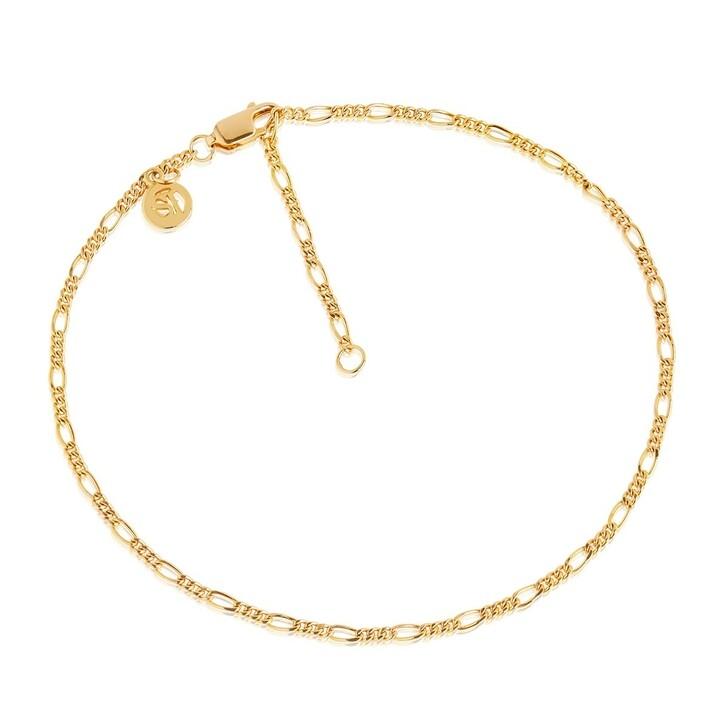 Armreif, Sif Jakobs Jewellery, Figaro Ankle Chain Yellow Gold