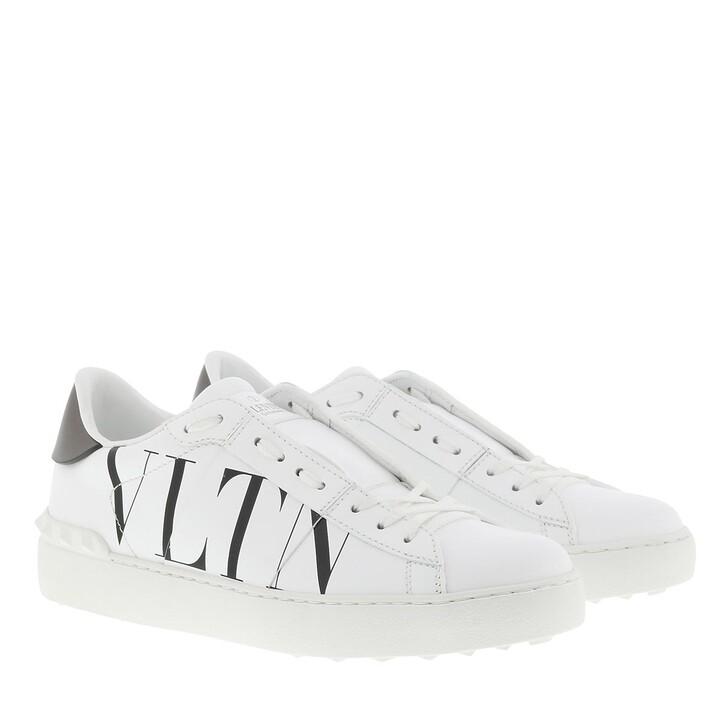 Schuh, Valentino Garavani, VLTN Rockstud Sneakers Leather White/Black