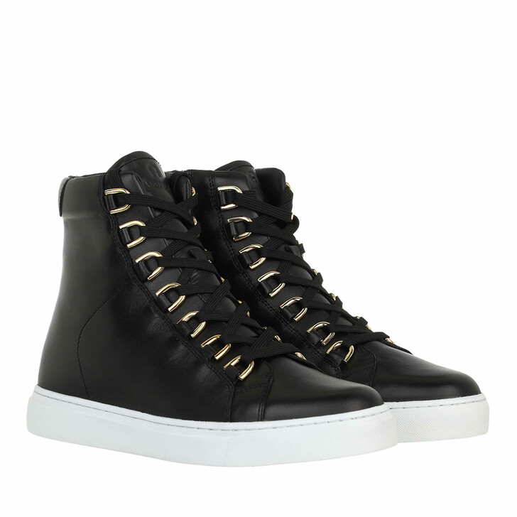 shoes, AIGNER, High Top Sneaker Black
