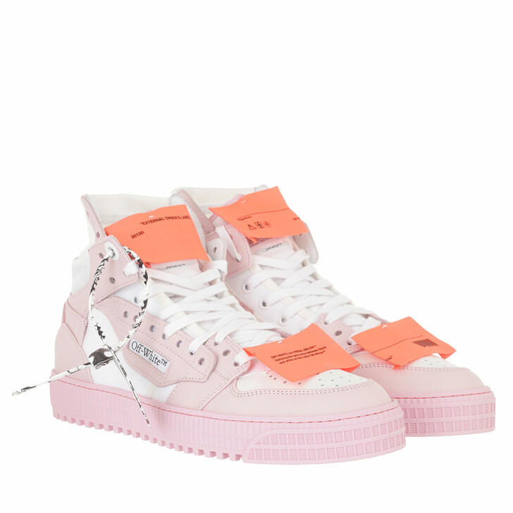 shoes, Off-White, 3.0 Off Court Leather White/Pink